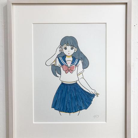 青春中毒 作品(水彩原画)