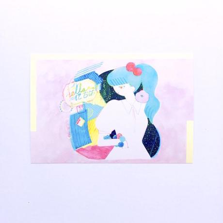ポストカード -夏・夜・思-