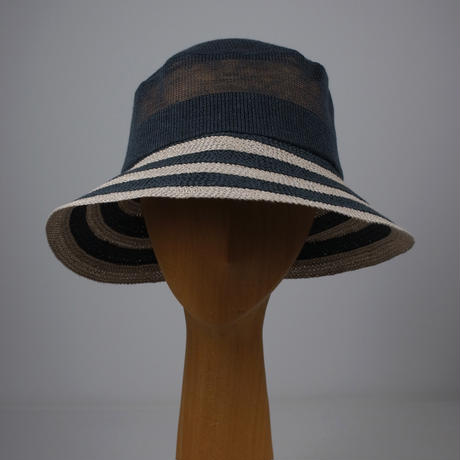 ASC-04  lucie petit lamé stripe knit