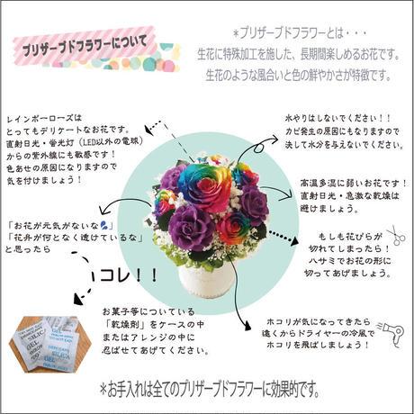 【数量限定フラワーボックス】ダリア プリザーブドフラワー フラワーギフト フラワーアレンジメント ボックスアレンジ