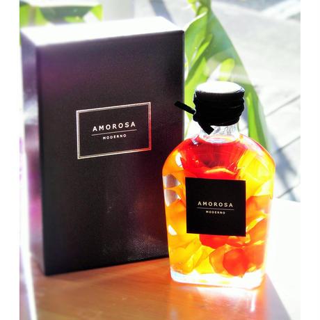 【送料無料】AMOROSA ハーバリウム ''ROSARIUM'' ロザリウム オレンジ