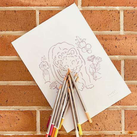 【 お試し オーダーメイド キャンペーン 30%OFF ! 7月10日まで  】手描き肖像画 / ポートレイト