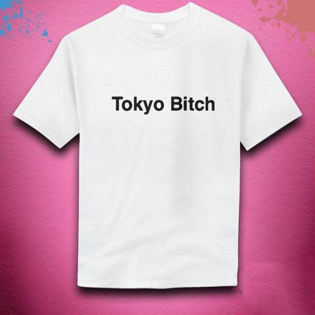 【NanakoWolfordオリジナル】Tokyo Bitch Tシャツ