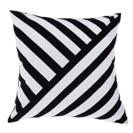 Modern Asymmetric Striped Cushion Pillow Case (アシンメトリーストライプ)
