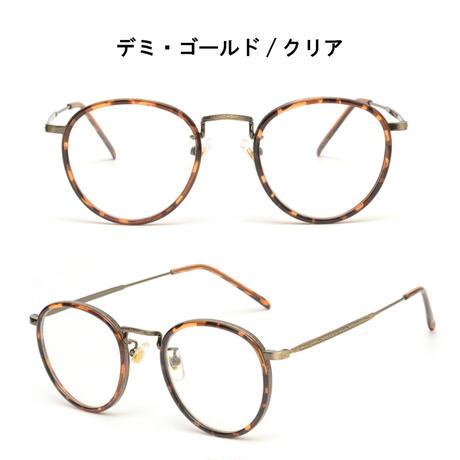 【アンティークメタル メガネ】4colors/UV99%cut/Ladies'・Men's