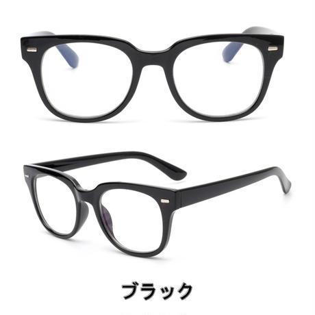 【PC GLASS ウェリントン 】3colors/ブルーライトカット/Ladies'・Men's