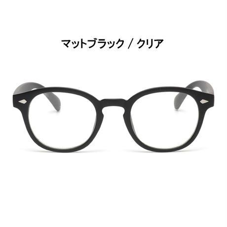 【ウェリントン メガネ】3colors/UV99%cut/Ladies'・Men's