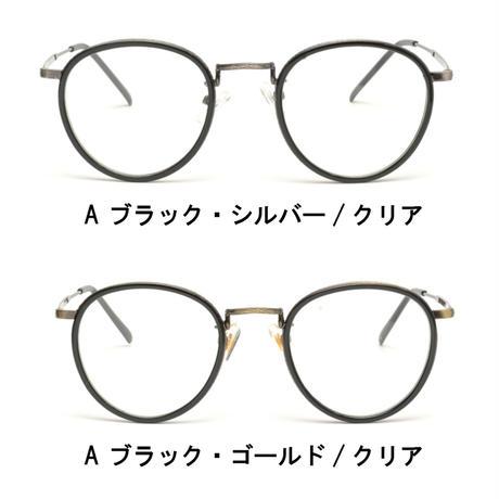【ボストンアンティークメタル メガネ】4colors/TY3546c