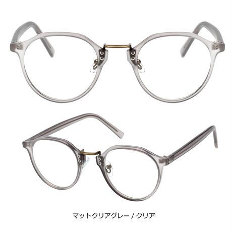 【クラウンパント メガネ】3colors/UV99%cut/Ladies'・Men's