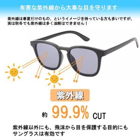 【スクエア サングラス】4colors/UV99%cut/Ladies'・Men's