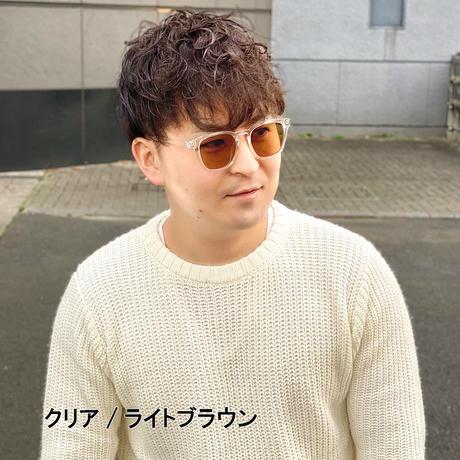 【クリアフレームサングラス】4colors/UV99%cut/Ladies'・Men's