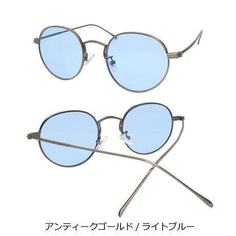 【ヴィンテージボストン メタルサングラス】6colors/UV99%cut/Ladies'・Men's