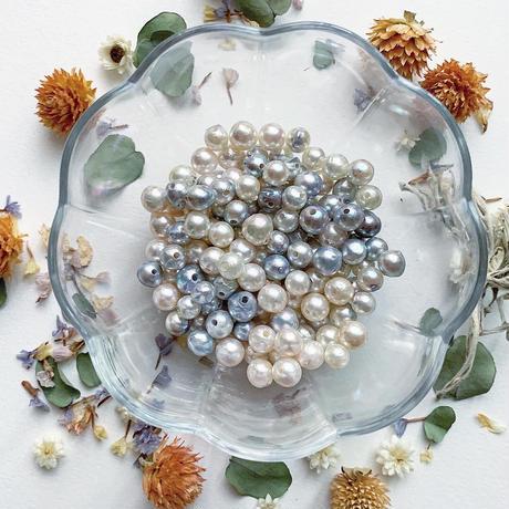 #5「あこや真珠コードブレスレット」ハンドメイドキット