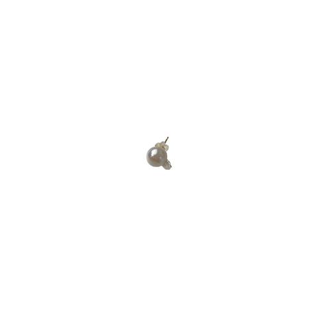 #17 百花 Goldfish Pearl Earring