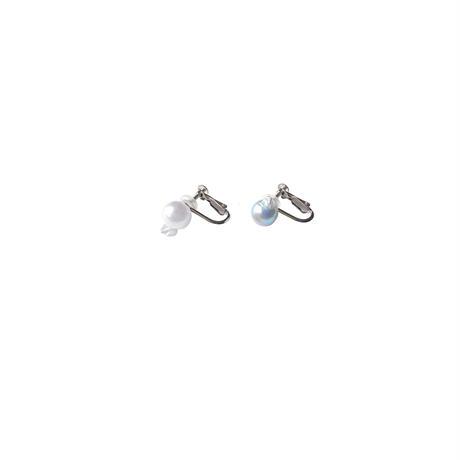 #147 百花 Goldfish Pearl Earrings