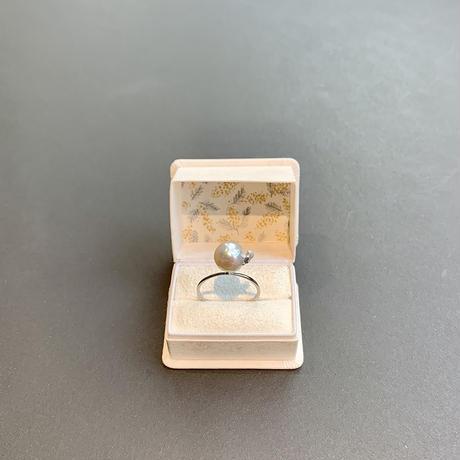 百花 Goldfish Pearl Ring #4
