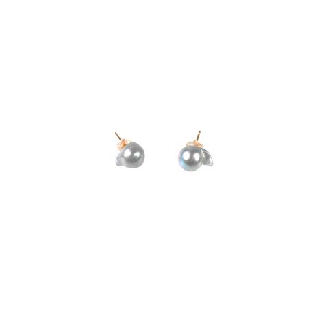 #103 百花 Goldfish Pearl Earrings