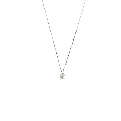 #32-2 冬花 Akoya 5 Pendant Necklace