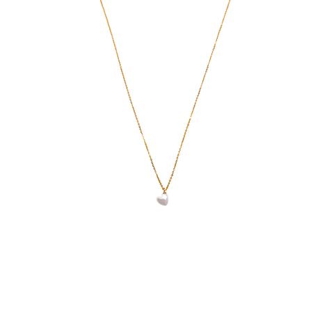 【数量限定】Heart Akoya Necklace #1