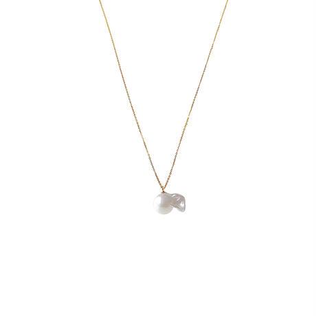 #155 百花 Superior Goldfish Pearl Necklace