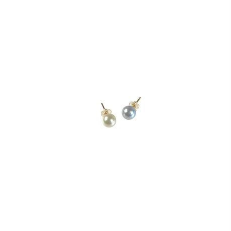 #82 百花 Coloful Akoya Pearl Earrings