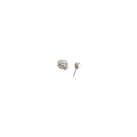 #57 冬花 Akoya 5 Pearl LapelPin