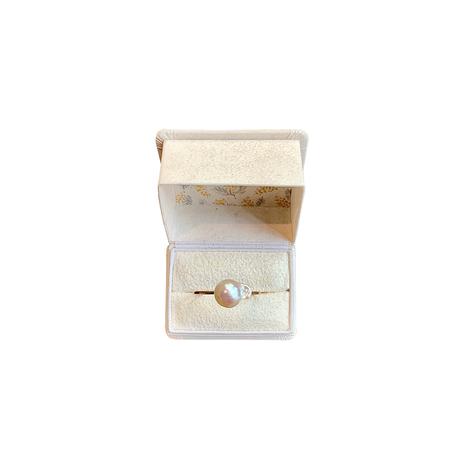 百花 Goldfish Pearl Ring #2