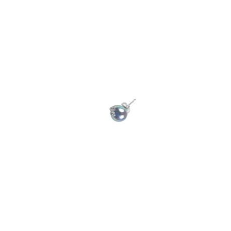 #132 百花 Uneven Akoya Pearl Earring