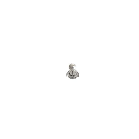 #58 冬花 Akoya 6 Pearl LapelPin