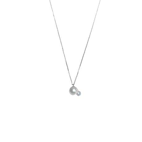 #123 百花 Goldfish Pearl Necklace