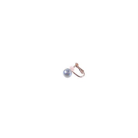 #94 百花 Goldfish Pearl Earring