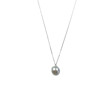 #41 百花 Uneven Akoya Pearl Necklace