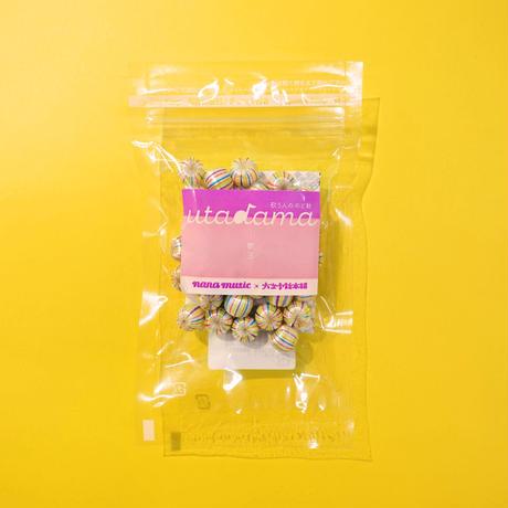 歌う人のnanaオリジナルのど飴 utadama -歌玉- 1袋