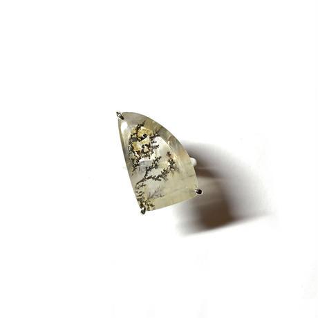Dendritic quartz ring B (13号)
