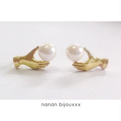 Dress in pearl pierce(Set)