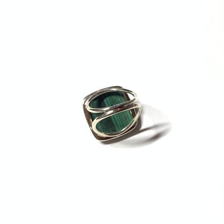 【受注商品】Malachite ring