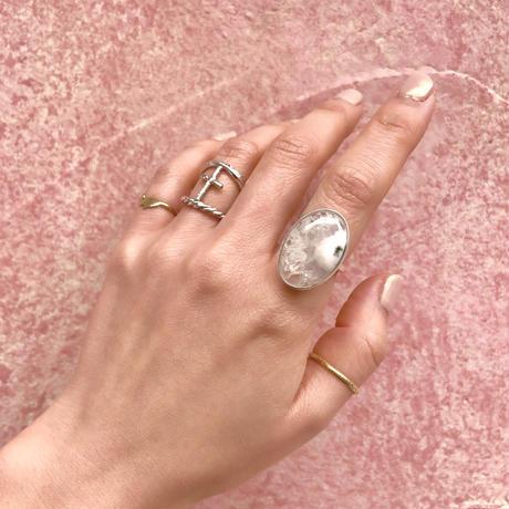Solar agate ring B (11号)