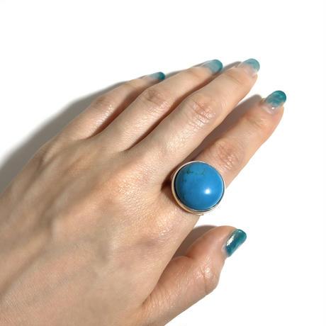 【受注商品】Turquoise dome ring