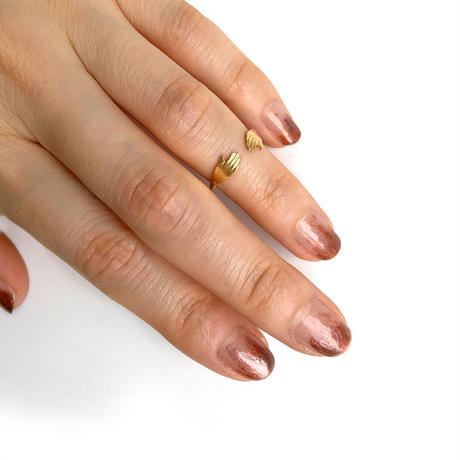 Hand ring〈Gold〉