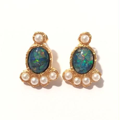 Tiny opal pierce (set)