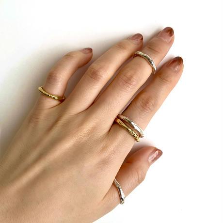 【受注商品】Grain ring〈Gold〉 #16 - #20