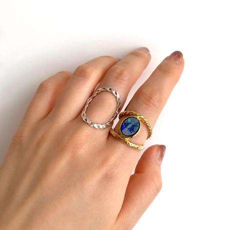 Circle ring〈Gold〉