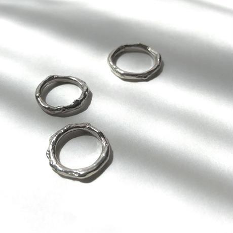 Grain ring〈Silver〉 #3 - #7