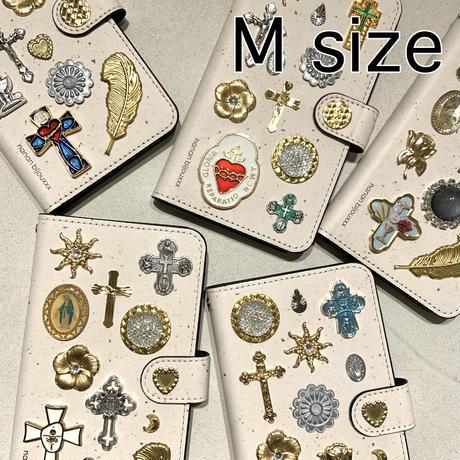 手帳型スマホケース Mサイズ〈Jasper〉