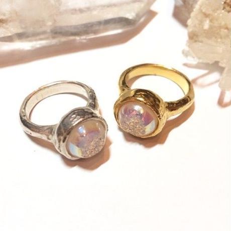 【受注商品】Aurora druzy ring