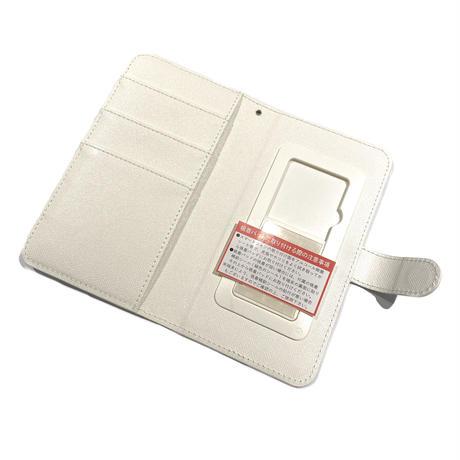 手帳型スマホケース Mサイズ〈Mint〉