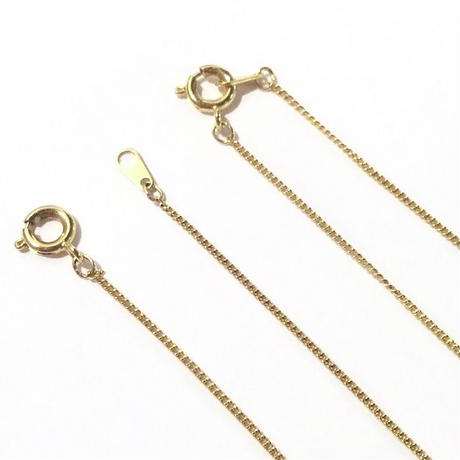 Arrow chain 40cm / 45cm (Brass×K18pd)