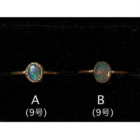 K10 ring (エチオピアオパール1)