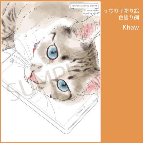 うちの子塗り絵集 vol.2 【おうち時間応援キャンペーン】