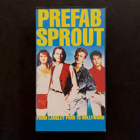 Prefab Sprout「 From Langley Park to Hollywood」VHS